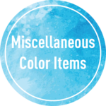 Miscellaneous Color Items